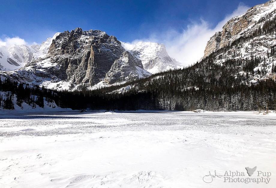 The Loch's Winter Bluster