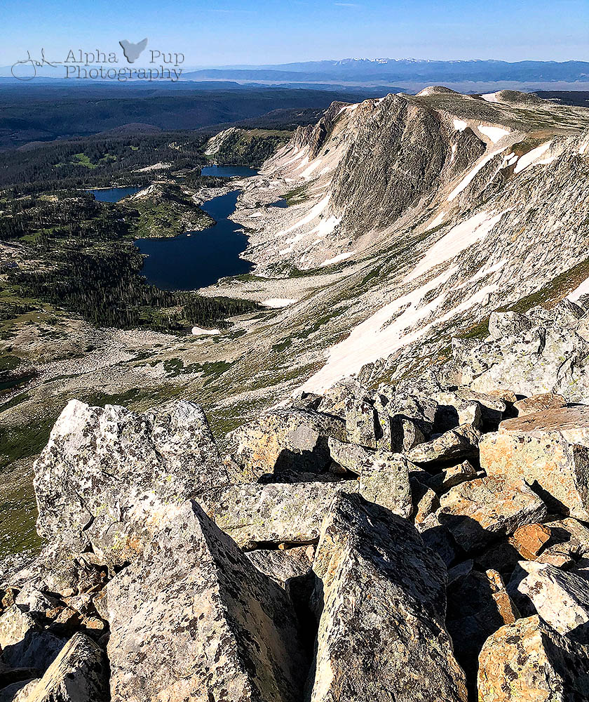 Medicine Bow Peak View from the Top