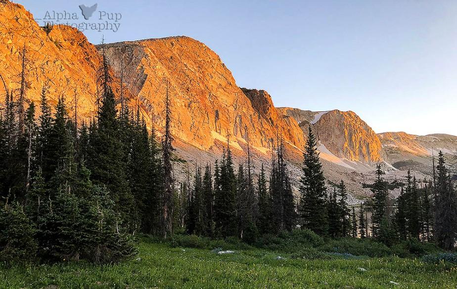 Medicine Bow Peak Sunrise