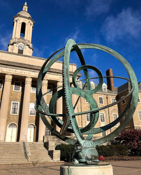 Old Main & Compass