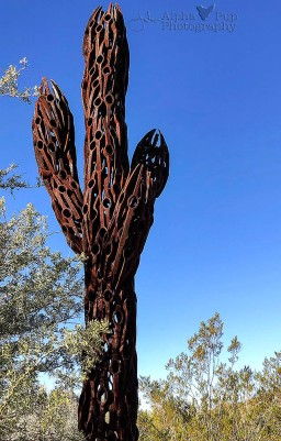 Saguaro Sculpture
